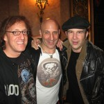 L to R: Mark Feldman,  Kenny Aronoff, Shawn Pelton