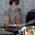 shannon plays drums