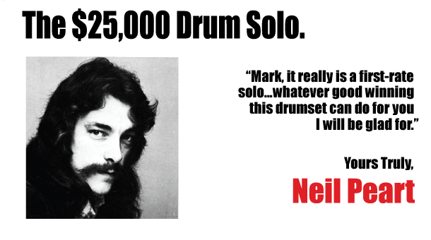 The $25K Drum Solo
