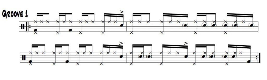 the 1eand 2eand groove 1 illustration