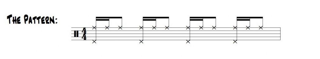 the 1eand 2eand pattern illustration