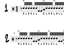 More 32nd Note Paradiddle Soloing Ideas