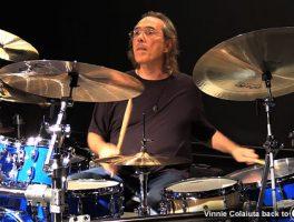 Vinnie Colaiuta Returns to Gretsch Drums