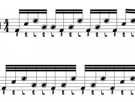 Nasty Drum Lick #81: Yet More 32nd Notes