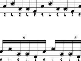 Variations on Nasty Drum Lick #80