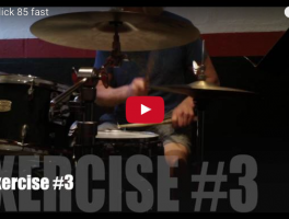 Learn Some Blazing 32nd Note Grooves with the Nasty Drum Lick 85 Videos
