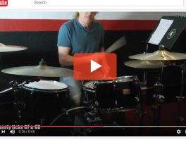 Nasty Drum Licks #87 and #88 : More RLF as 32nd notes