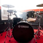 Yamaha Drums in Studio 1