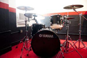 Yamaha Drums in Studio 1