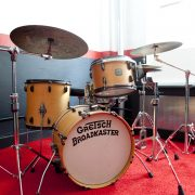 Gretsch Drums in Studio 2