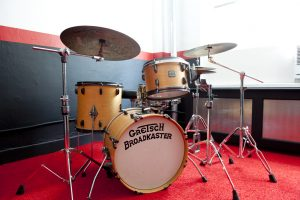 Gretsch Drums in Studio 2