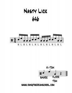nasty lick 46