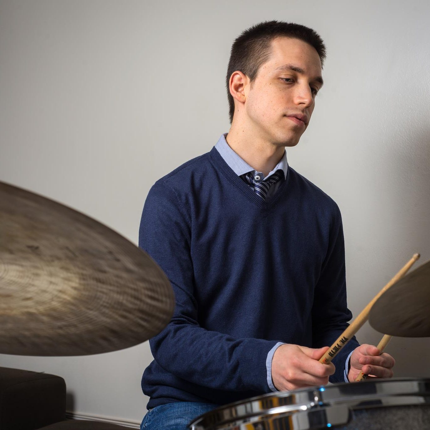 Steve Picataggio Portrait two (behind the kit)