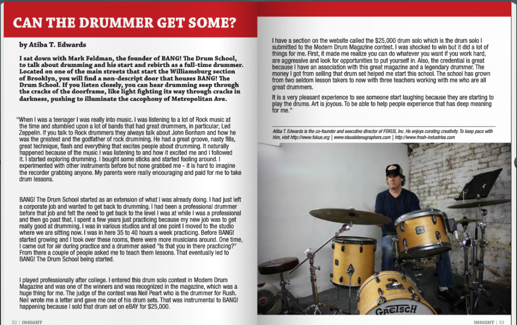 Insight Magazine Interview with Mark Feldman