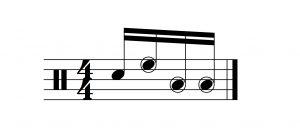A Classic 16th note lick
