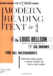 Modern Reading Text in 4/4 by Louie Bellson