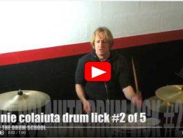 Five Vinnie Colaiuta Drum Licks Part Two Video