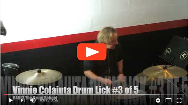 Five Killer Vinnie Colaiuta Drum Fills Part Three