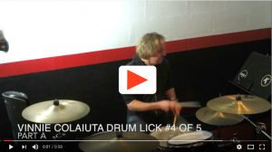 Five Vinnie Colaiuta Drum Licks number Four