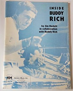 Inside Buddy Rich Book by Jim Nesbitt