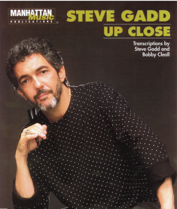 Steve Gadd Up Close Drum Transcription Book