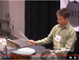 John Riley Ride Cymbal Technique Lesson