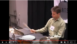 John Riley Ride Cymbal Technique Lesson