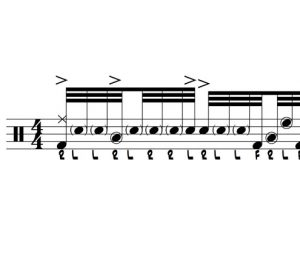 Nasty Drum Lick 100: Combining 32nd Note Ideas