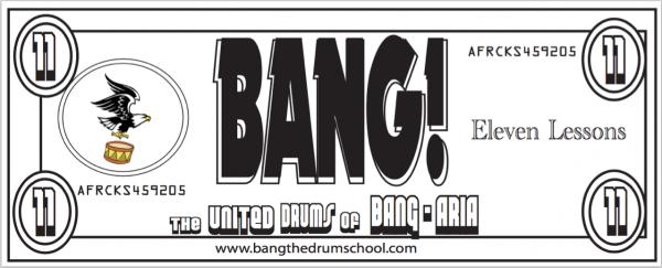 bang bucks eleven lesson gift certificate
