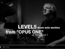 LEVEL5 Drum Solo Transcription