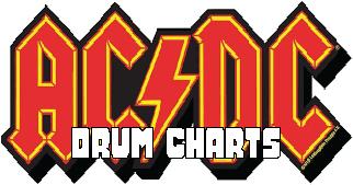 AC DC Drum Charts