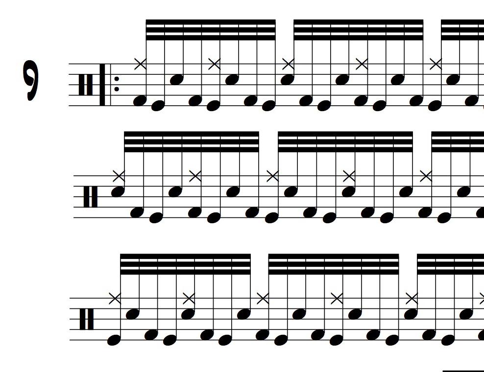 12 Double Bass Drum Exercises