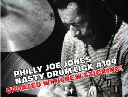 "Philly Joe Jones: ""Nasty Lick #109 Revised"""