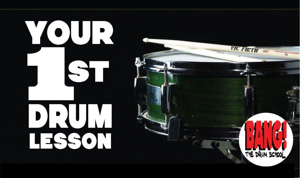 Beginner Drum Lessons 3 Simple Drum Beats BANG The Drum