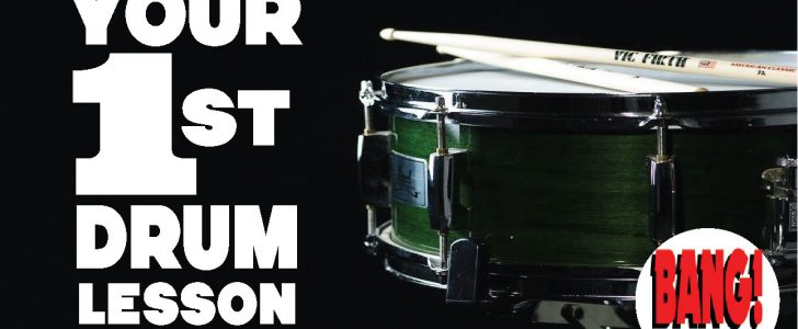 Your 1st Beginner Drum Lessons