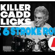 5 Killer Gadd Licks 4 | The Six Stroke Roll