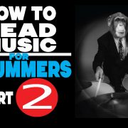 How To Read Music For Drummers Part Two | 12 Eighth Note Rock Beats
