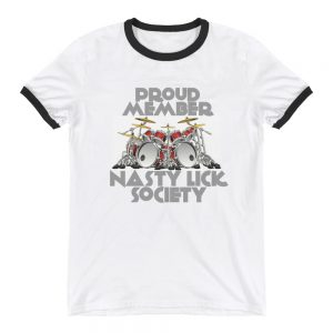 """Nasty Lick Society"" Ringer T-Shirt"