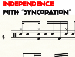 """clave independence with """"syncopation"""""""